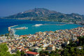 The city Zakynthos Stock Images