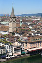 City of Zurich, Switzerland Royalty Free Stock Images