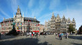 The Cityhall of Antwerpen Royalty Free Stock Photo