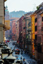 Citylife bollogna italia main street in bologna historical center Royalty Free Stock Image