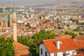 Cityscape of ankara view capital turkey Stock Images