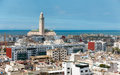 Cityscape Casablanca Royalty Free Stock Photo