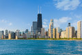 Cityscape of Chicago Royalty Free Stock Photo