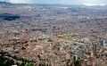 Cityscape of the city of Bogota Colombia Royalty Free Stock Photo