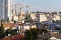 Cityscape city Tel Aviv buildings urban view. Royalty Free Stock Photo