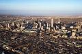 Cityscape of Denver, Colorado, USA. Royalty Free Stock Photo