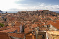 Cityscape of Dubrovnik, Coratia Royalty Free Stock Photo
