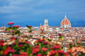 Cityscape of florence in italy Royalty Free Stock Photo