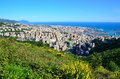 Cityscape of Genoa, Italy Stock Photo