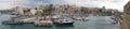 Cityscape of Iraklion, capital of Crete Isle Greece Royalty Free Stock Photo
