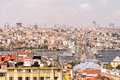 Cityscape of Istanbul, Turkey Royalty Free Stock Photo