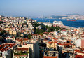Cityscape  of Istanbul Royalty Free Stock Photo