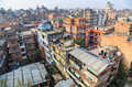 Cityscape kathmandu nepal in bagmati Royalty Free Stock Photography