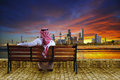 Cityscape of kuwait Royalty Free Stock Photo