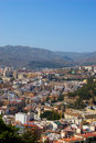 Cityscape of Malaga Royalty Free Stock Images
