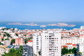 Cityscape of Marseille, France Stock Photo