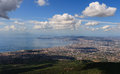 Cityscape Naples Royalty Free Stock Photo