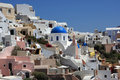 Cityscape of oia Royalty Free Stock Photography