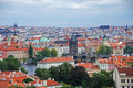 Cityscape of old Prague, Europe Royalty Free Stock Images