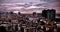 Cityscape panarama taken in changsha city hunan province china Royalty Free Stock Images