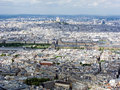 Cityscape of Paris Royalty Free Stock Photos