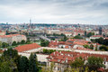 Cityscape of Prague Royalty Free Stock Images