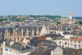 Cityscape of rouen in a summer day sunny Stock Image
