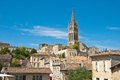 Cityscape of Saint-Emilion, France. Royalty Free Stock Photos