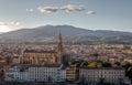 Cityscape santa croce, Florence, Firenze, Tuscany, Italy Royalty Free Stock Photo