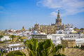 Cityscape of seville spain Royalty Free Stock Photo