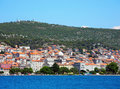 Cityscape of Sibenik, Croatia. Royalty Free Stock Photo