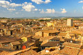 Cityscape of Siena Royalty Free Stock Photos
