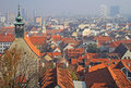 The cityscape of slovakian capital Bratislava