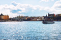 Cityscape Stockholm, Sweden Royalty Free Stock Photo