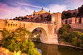Cityscape of Toledo Stock Photo