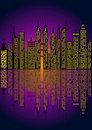 Cityscape -Vector illustration Royalty Free Stock Photos