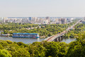 stock image of  Cityscape view of the Dnieper