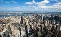 Cityscape View Of Manhattan, N...