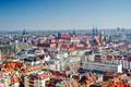 Cityscape view of wroclaw panorama city Royalty Free Stock Photography