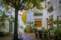 Cityscape in white town Priego de Cordoba in Andalucia, Spain Royalty Free Stock Photo