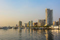 Cityscapy of Manila, Luzon island,  Philippines Royalty Free Stock Photo