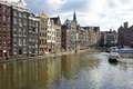 Cityscenic from amsterdam netherlands in the Royalty Free Stock Images
