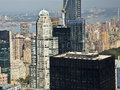 Cityspire center new york october aerial view of new york city usa Royalty Free Stock Image