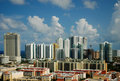 Cityview of Sunny Isles Beach, Florida Stock Photos