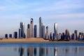 Ciudad de dubai Fotos de archivo libres de regalías
