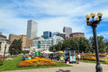 Civic center park in downtown denver september on september the is located at the intersection of colfax avenue and Stock Photos