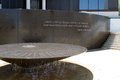 Civil Rights Memorial Table Royalty Free Stock Photo