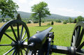 Civil war cannon in virginia Royalty Free Stock Photo