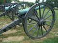 Civil War Cannons Stock Image