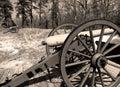 Civil War Canon Royalty Free Stock Photo
